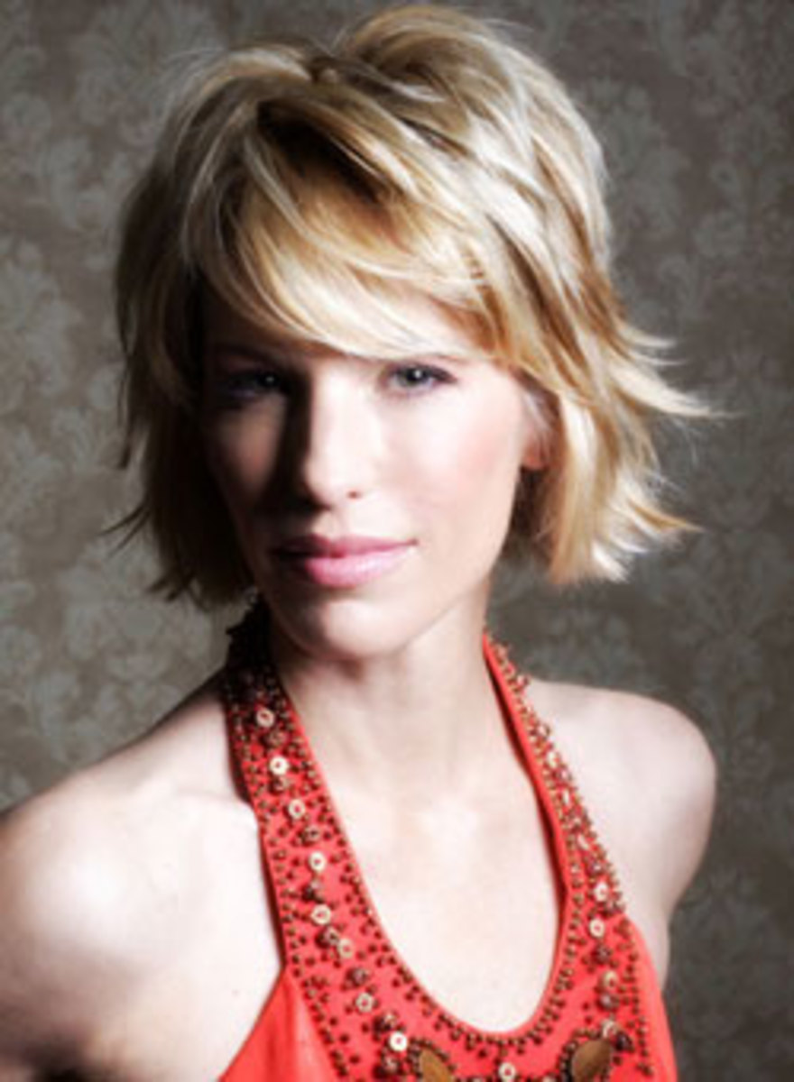 short choppy hairstyles looking so sexy for girls