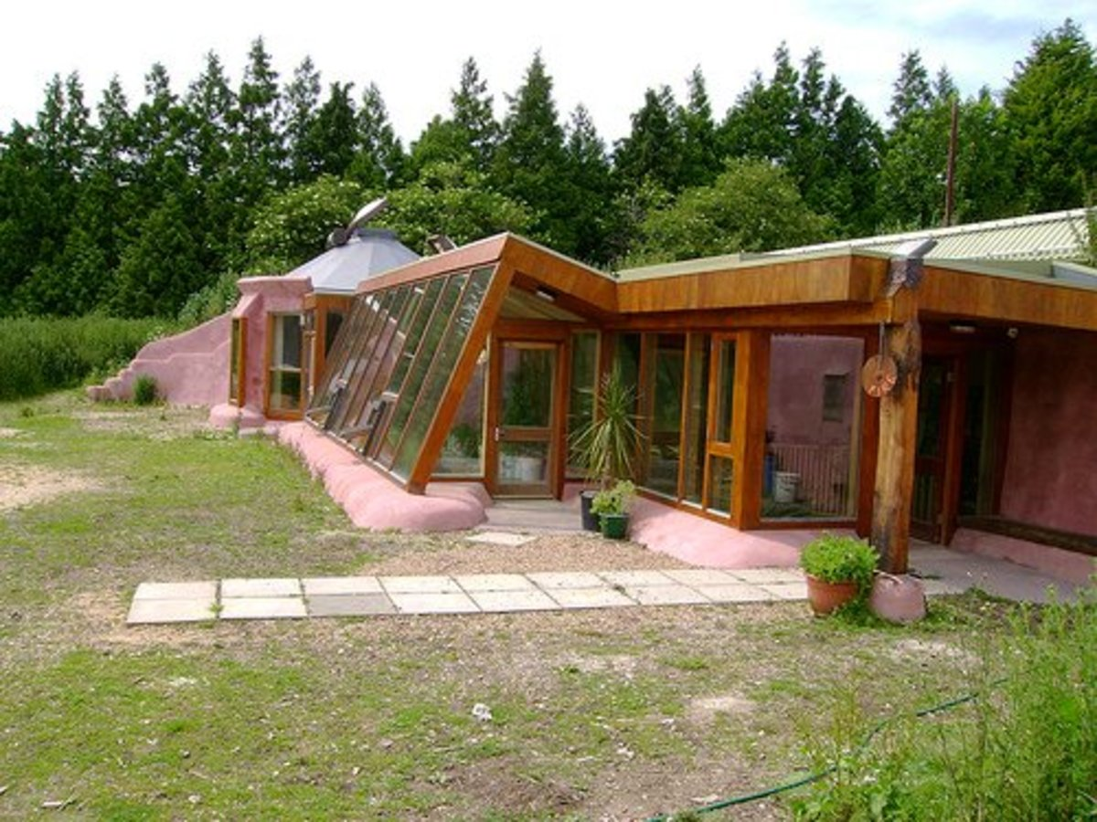 Earthship homes can be built in a variety of locations. A warm, desert setting is not required. In fact, a southern-facing mountain setting could be ideal.