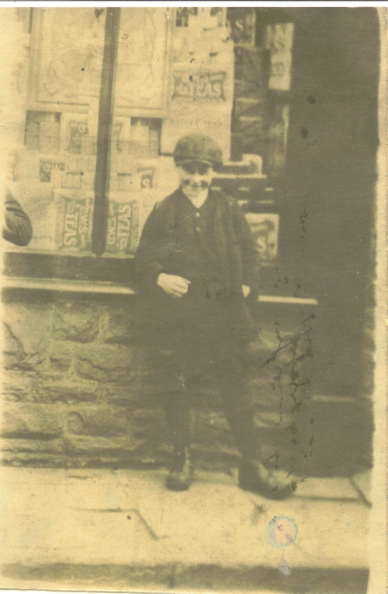 The only known photograph of Ivor Coles