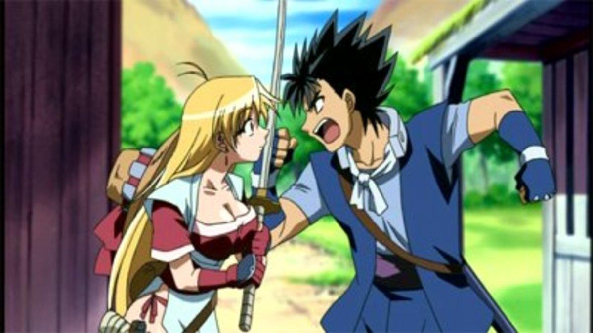 Rushuna (left) and Yajiro (right)