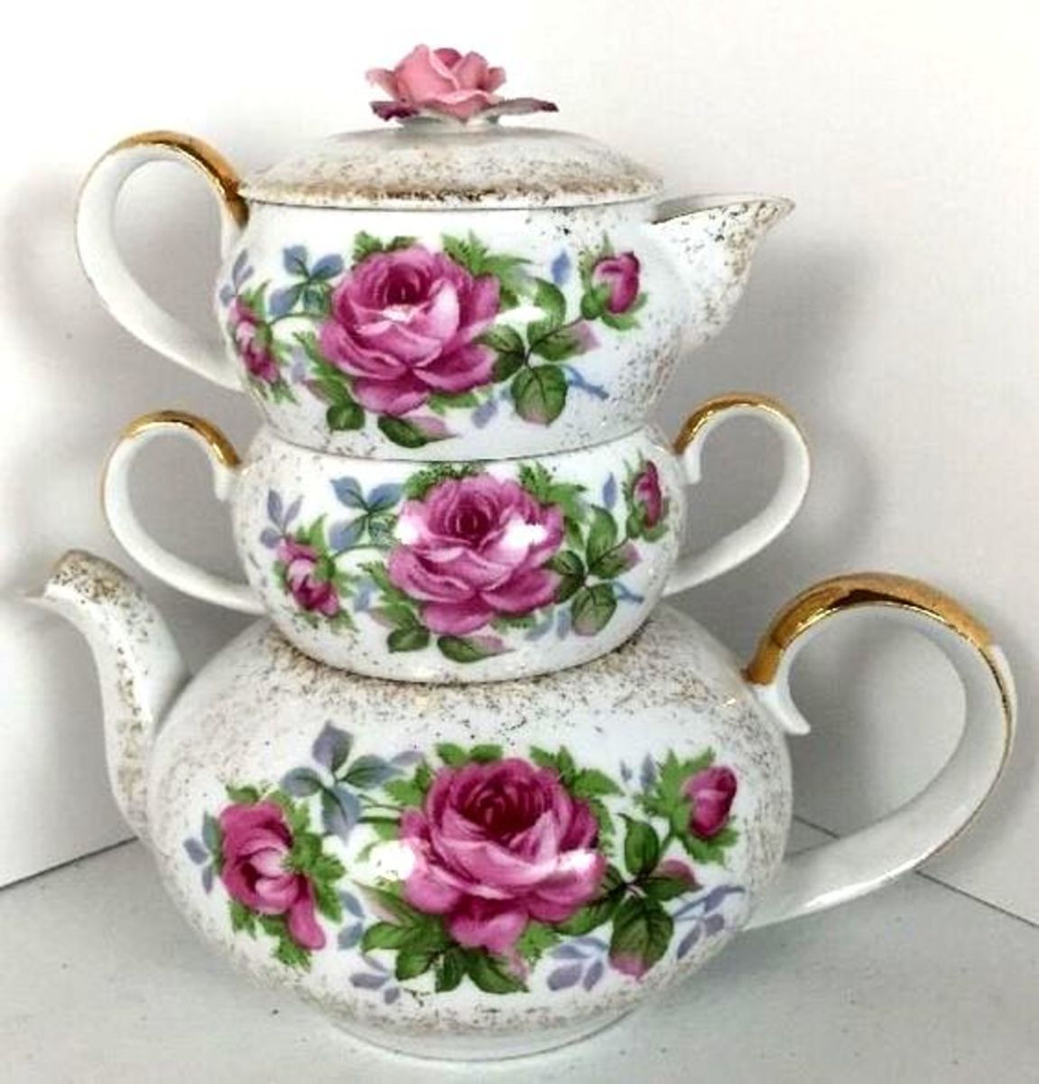 Lefton Stackable Tea Set