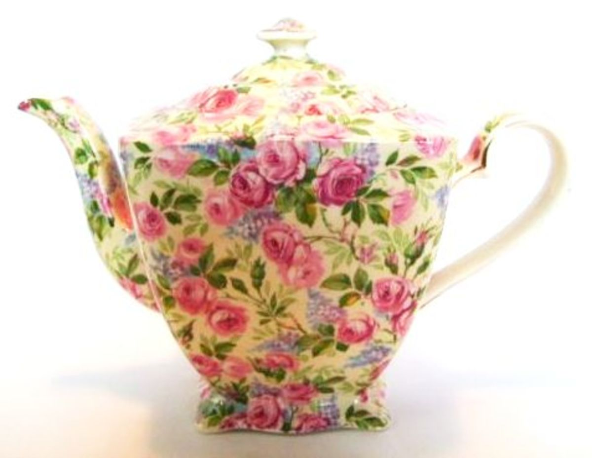 Royal Winton Grimwades Rose Chintz
