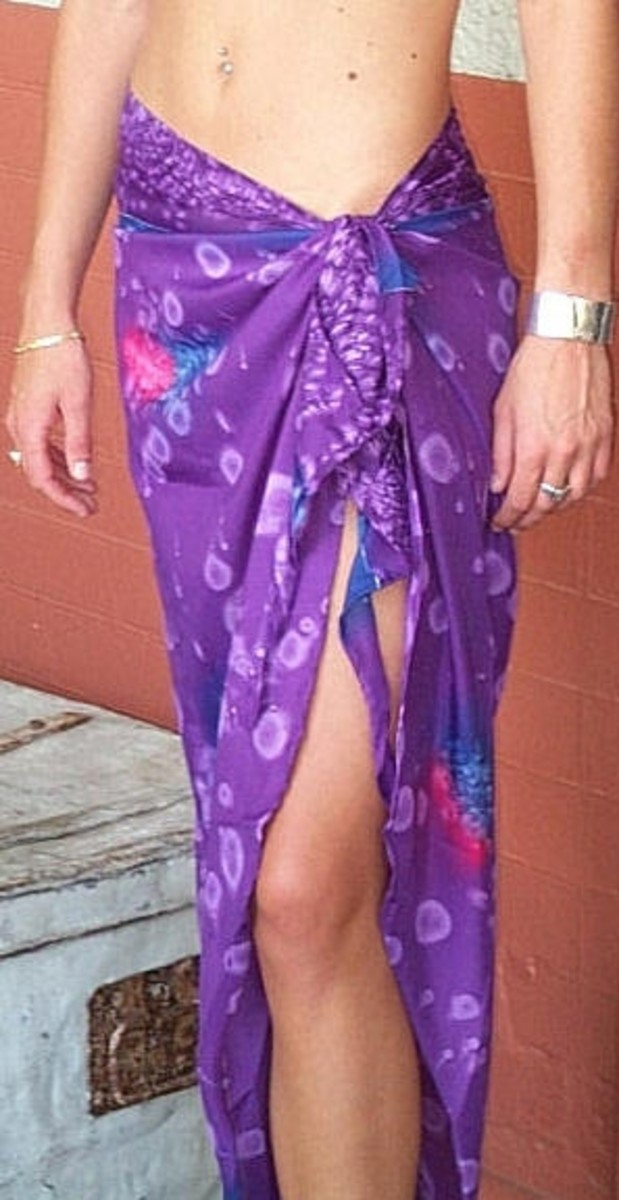 How to Wear or Wrap a Sarong