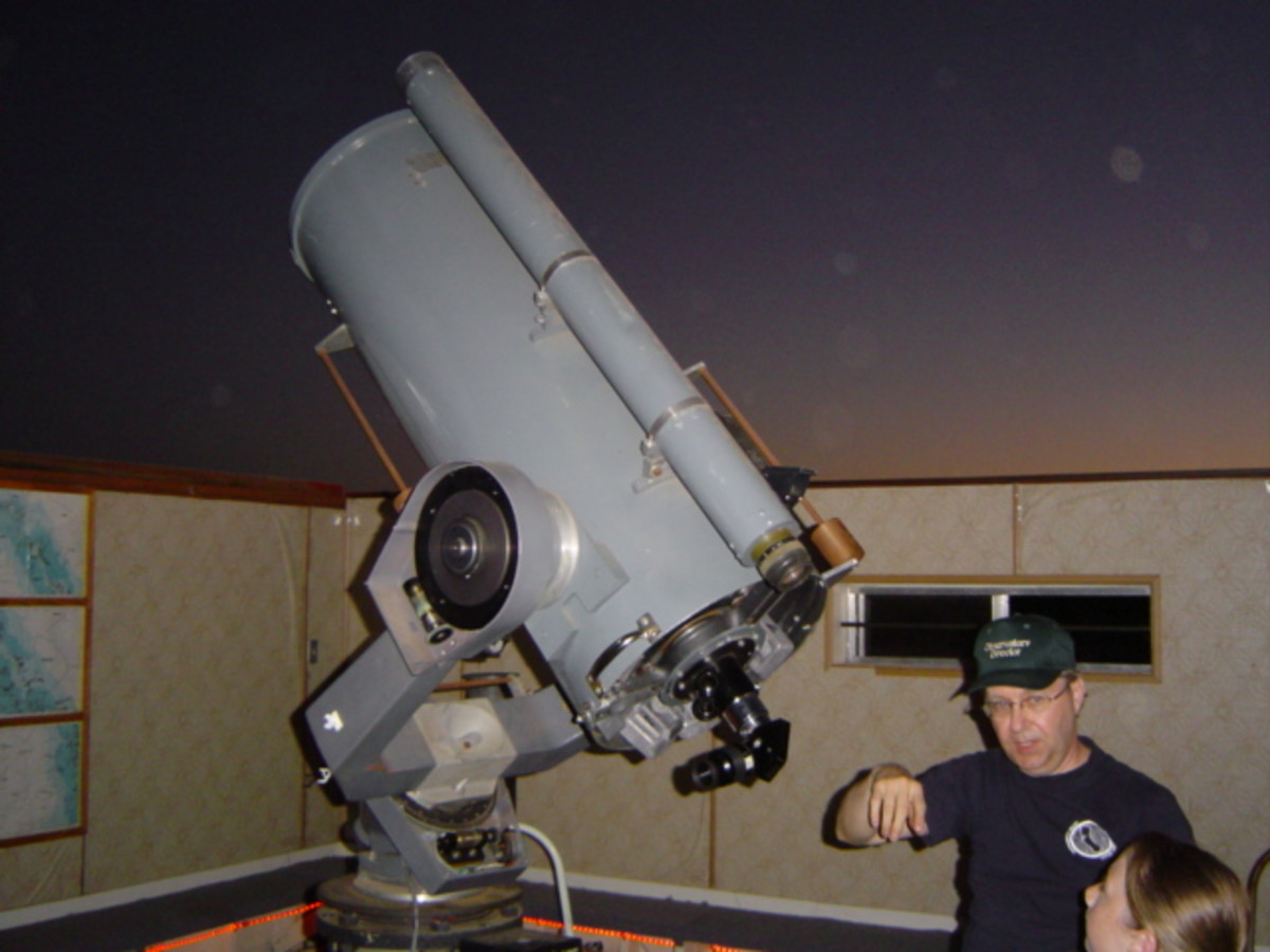 16-inch Ritchey-Chretien telescope in the Henry Grieb Observatory at Blue Canyon
