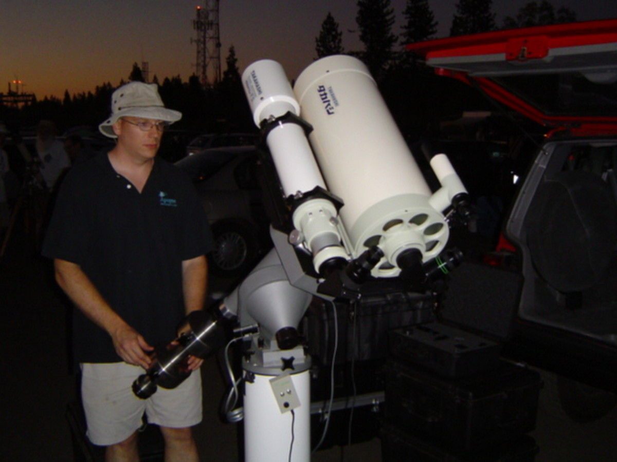 Double trouble - reflector and refractor