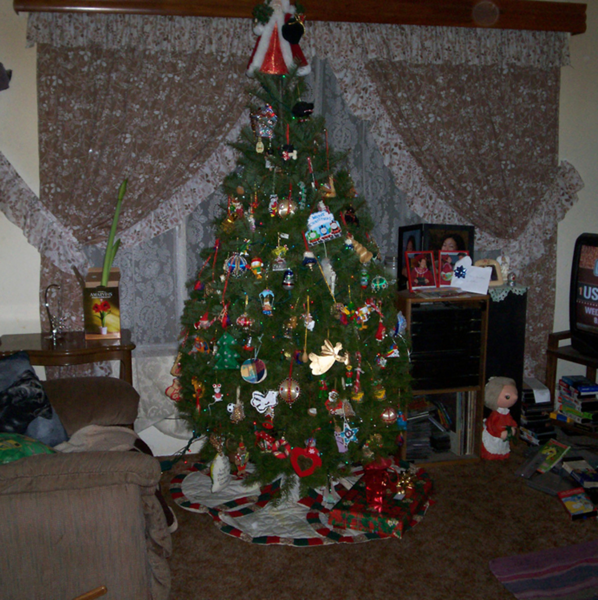 My family's humble Christmas tree
