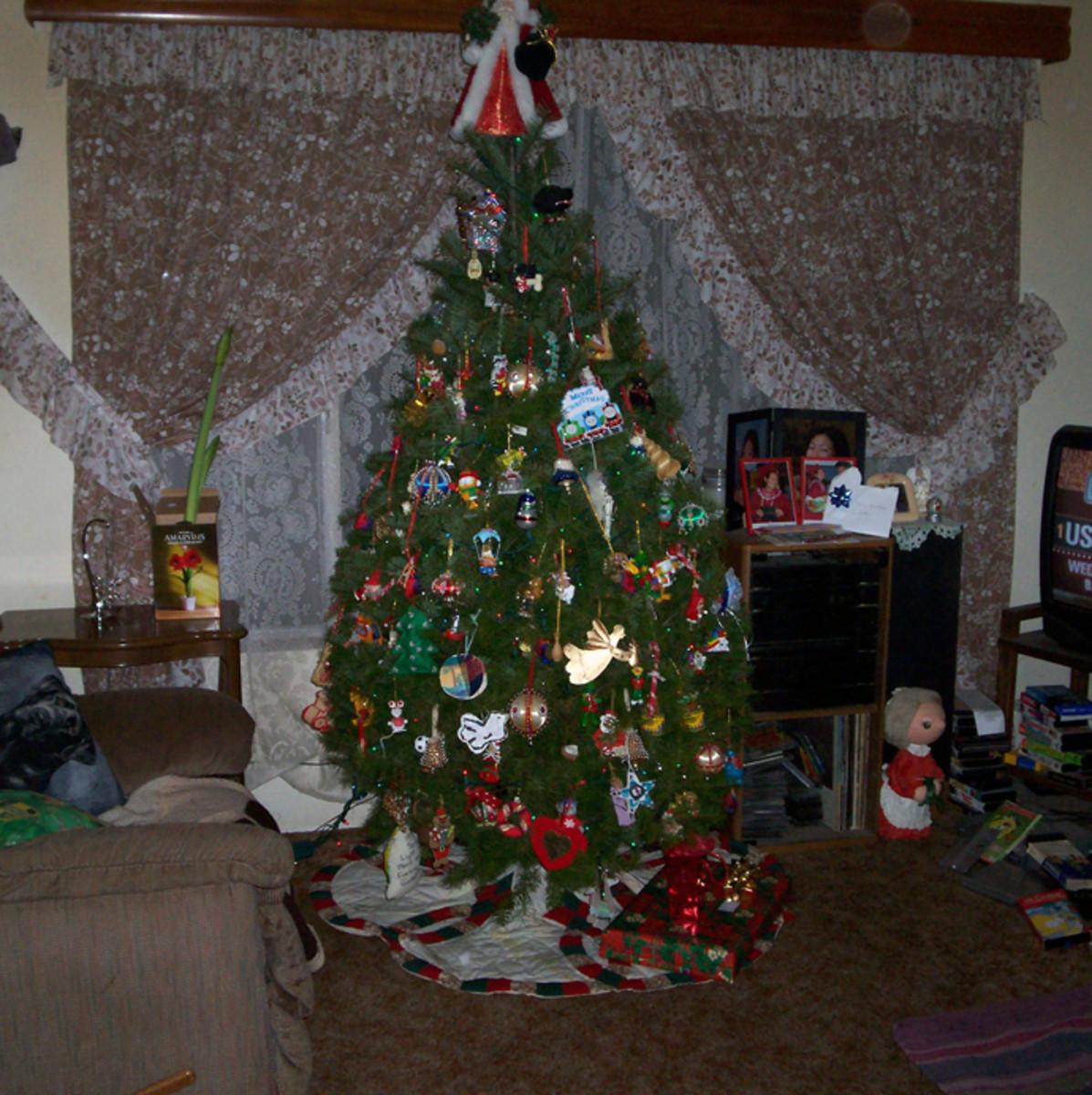 My family's humble Christmas tree