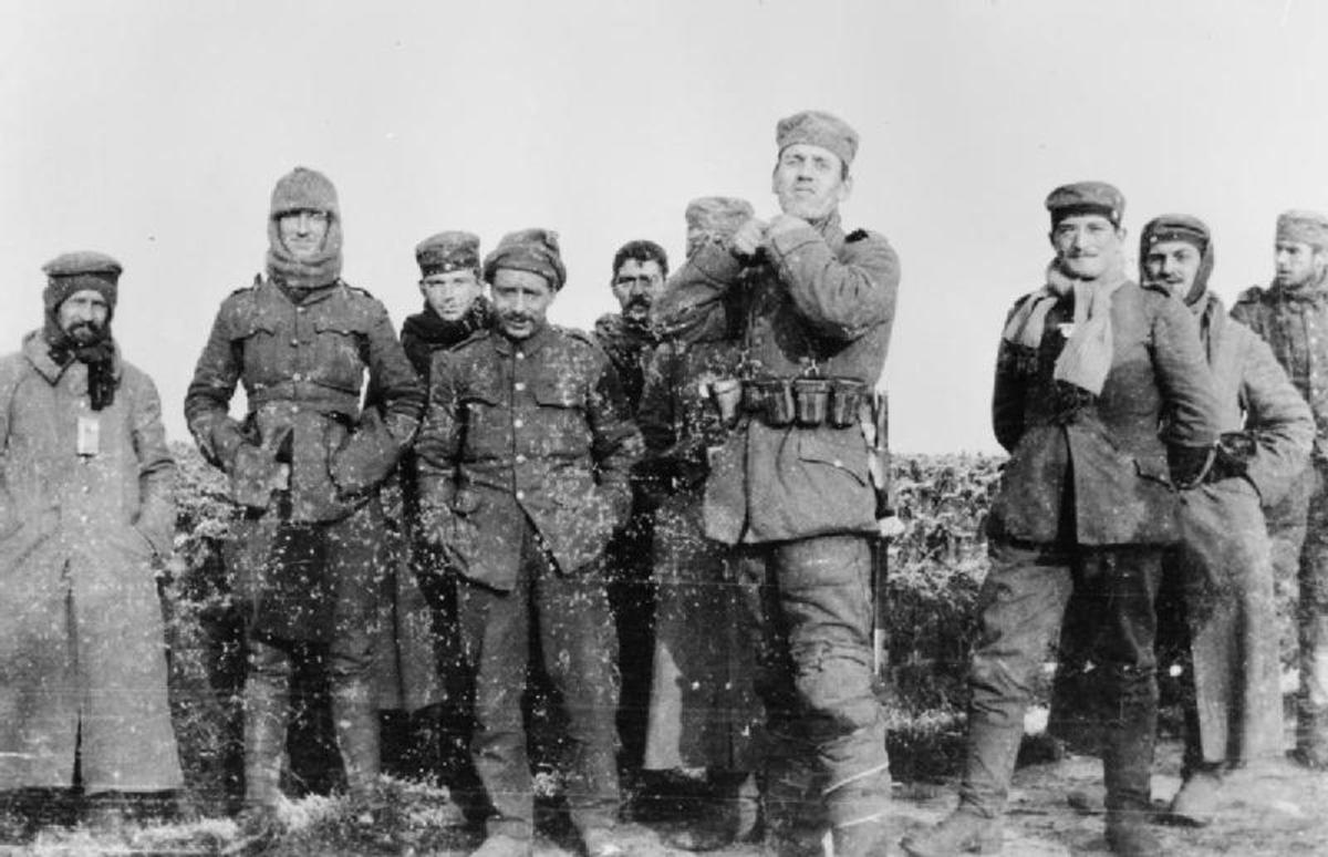 World War 1 1914 A Christmas Truce In The Trenches