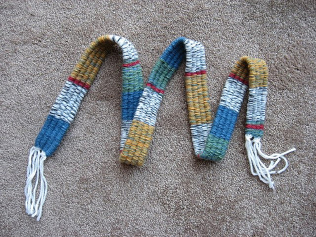Crazy for stripes. Self-striping yarn.