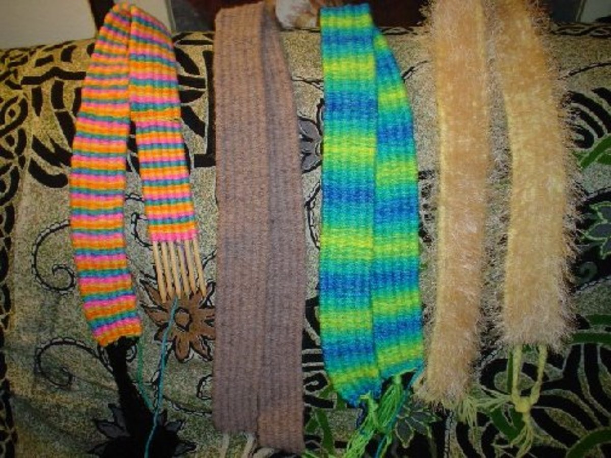 Stick Weaving For a Quick Homemade Gift