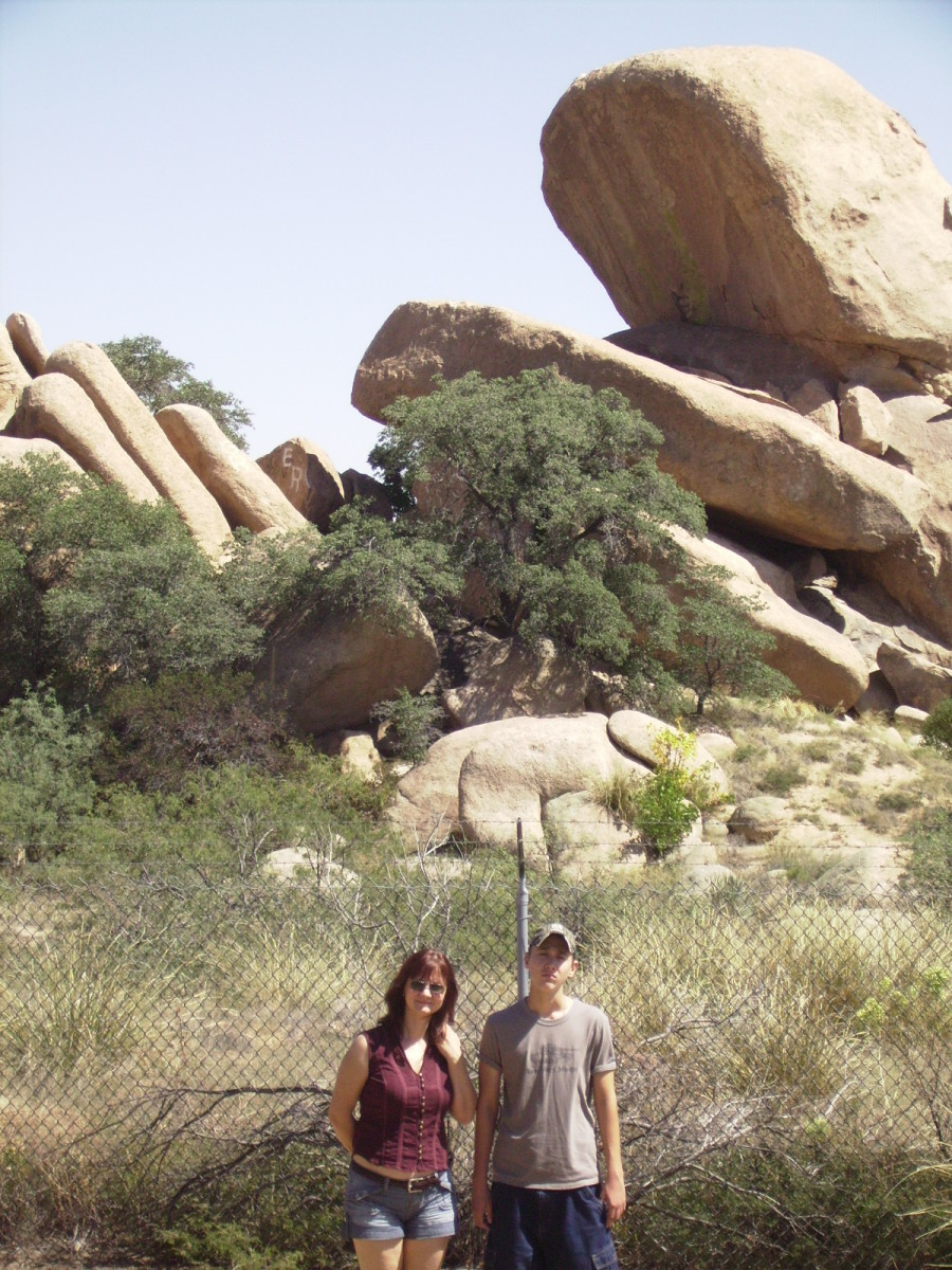 Arizona's Texas Canyon Rest Area