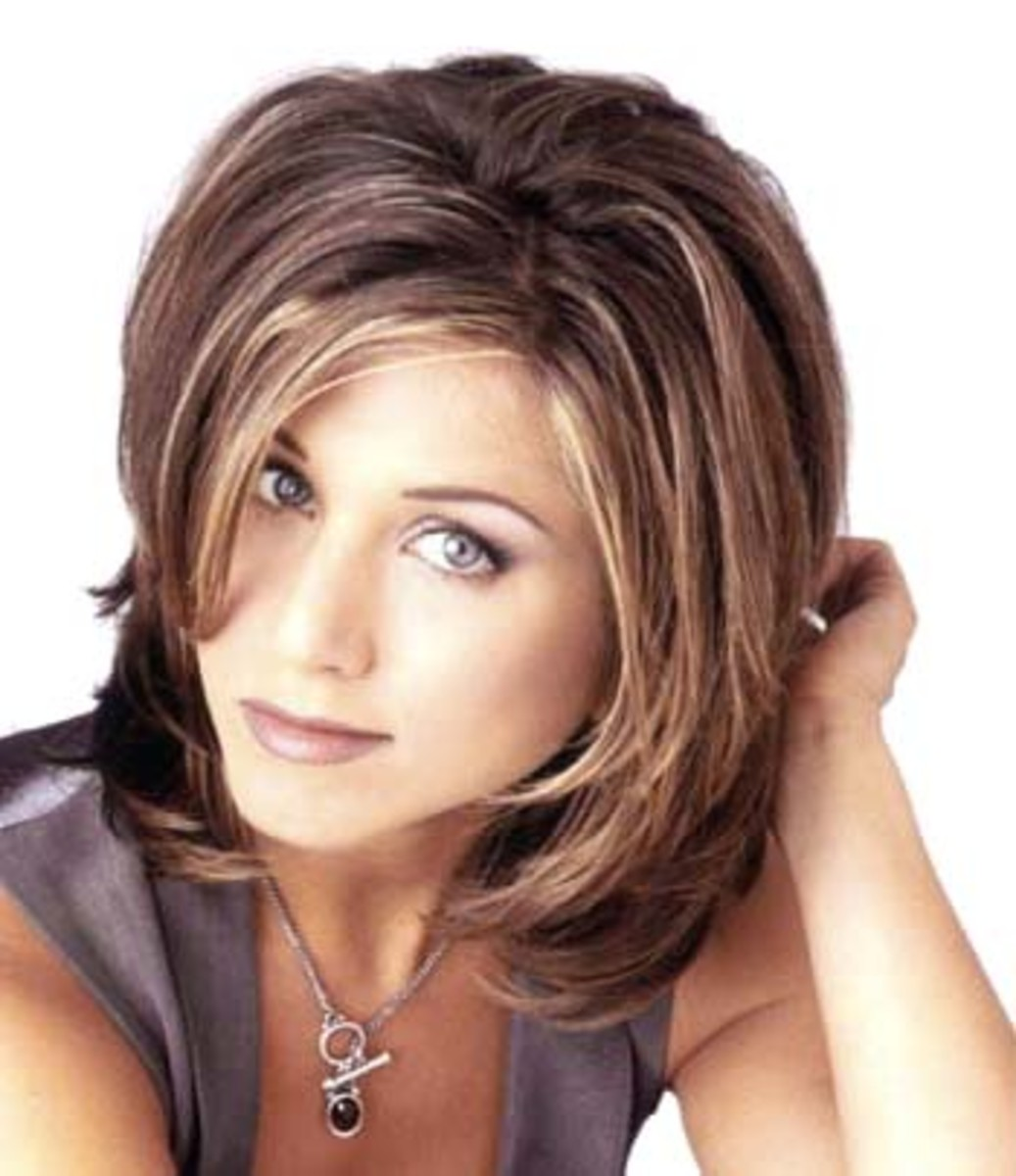 Jennifer Aniston Hairstyles and Haircuts with Short and Long Hair Pictures
