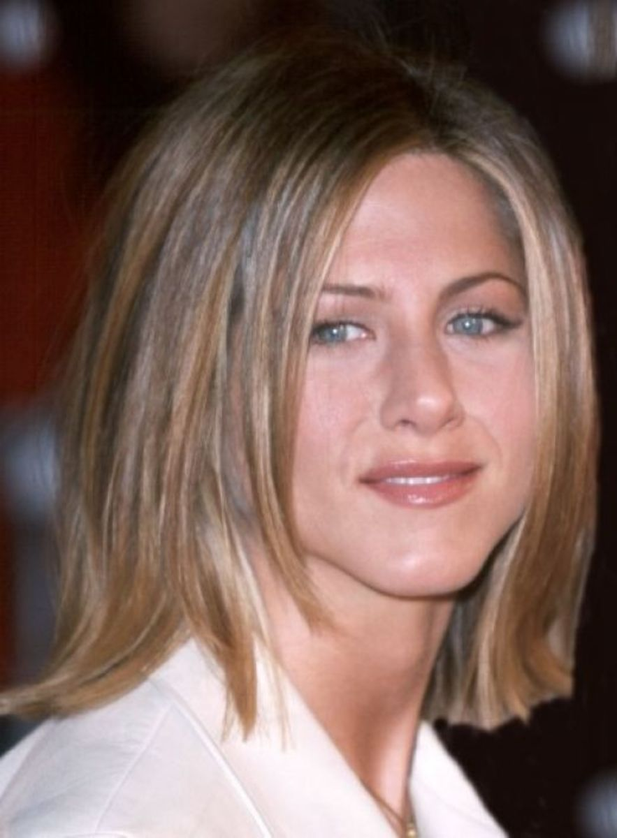 Haircut Styles For Long Thin Hair: Jennifer Aniston Hairstyles And Haircuts With Short And