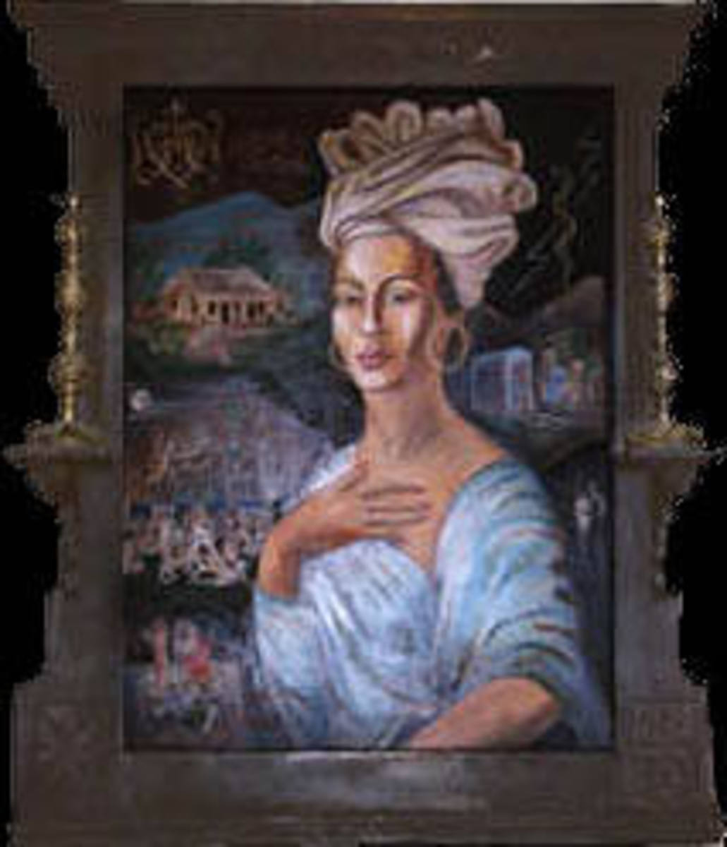 Marie Laveau Believed to be born in New Orleans in 1794 and died in New Orleans on June 15th, 1881.