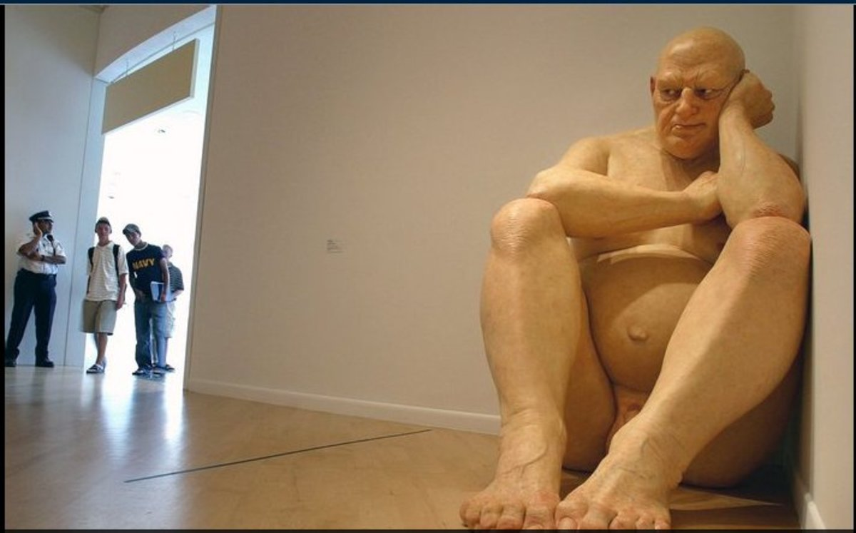 Awesome Sculptures Of Ron Mueck!