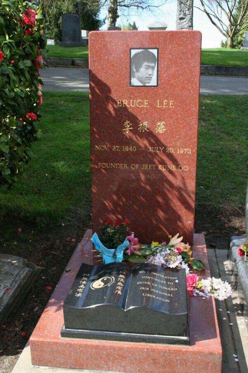 Bruce Lee Casket Bruce lee grave