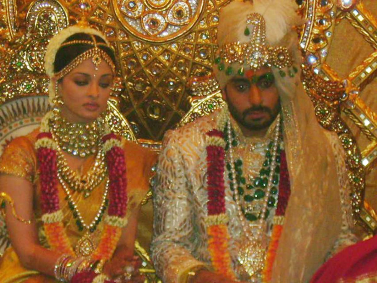 bolly brunch  aishwarya rai abhishek bachan wedding photos