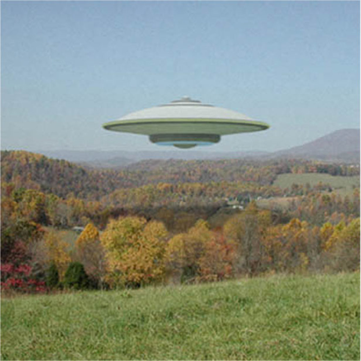 Is this a photo of a real UFO?