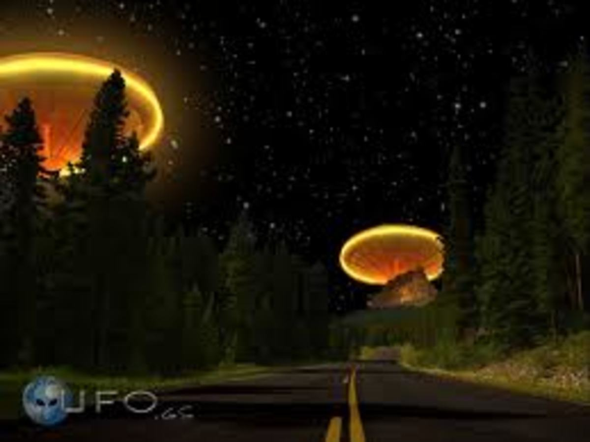 One Night You Just May See A UFO. Do You Believe?