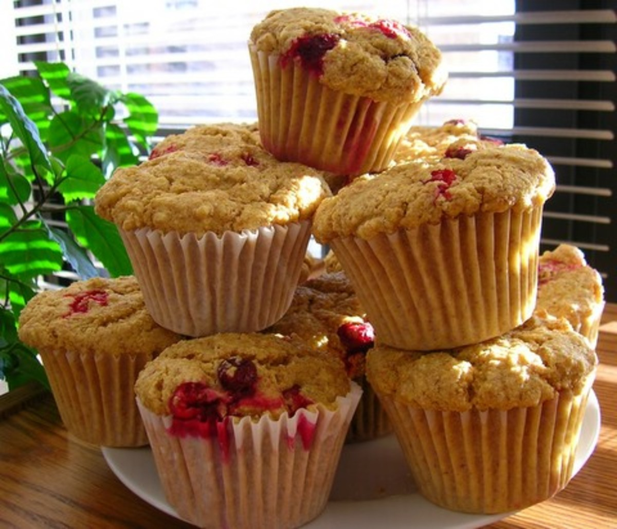 Line muffin tins with cupcake papers, or spray each cup well with no-calorie, fat-free cooking spray.