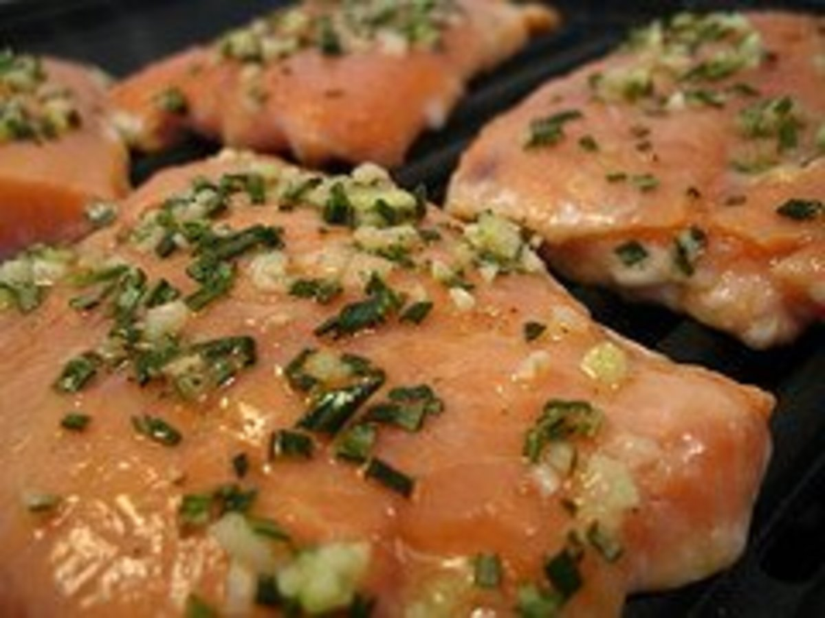 World's Best Grilled Salmon Recipe
