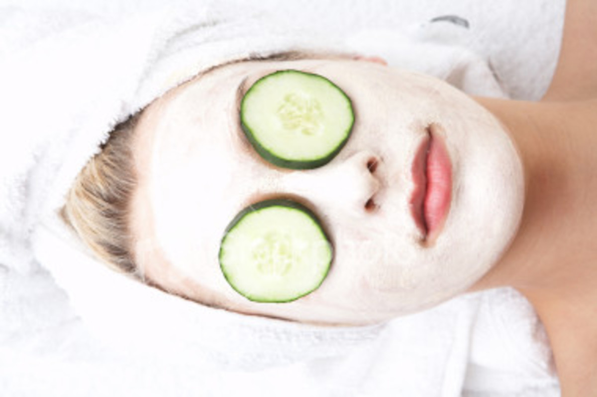 Spa-At-Home: Homemade Facials & Face Mask Recipes