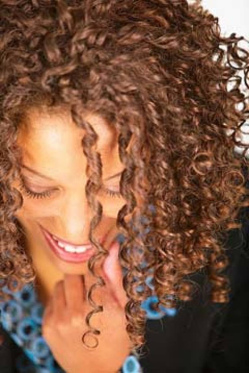 Don't be dismayed--curly hair is a blessing in disguise!
