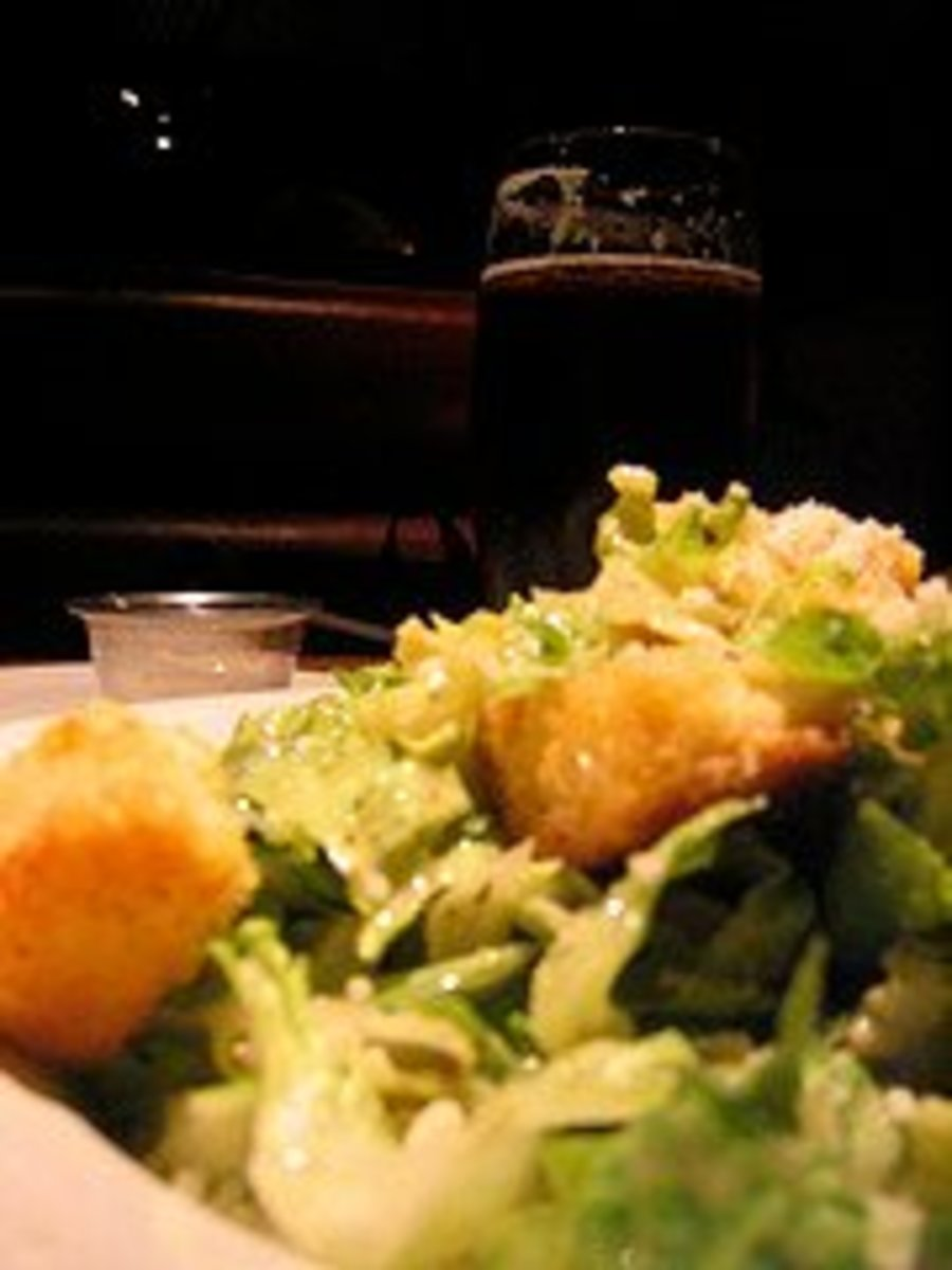 Houston's Restaurant Caesar Salad