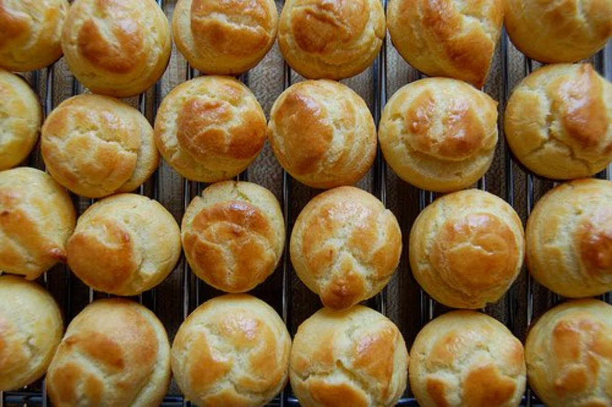 Shoe Pastry Recipe (Choux Pastry)
