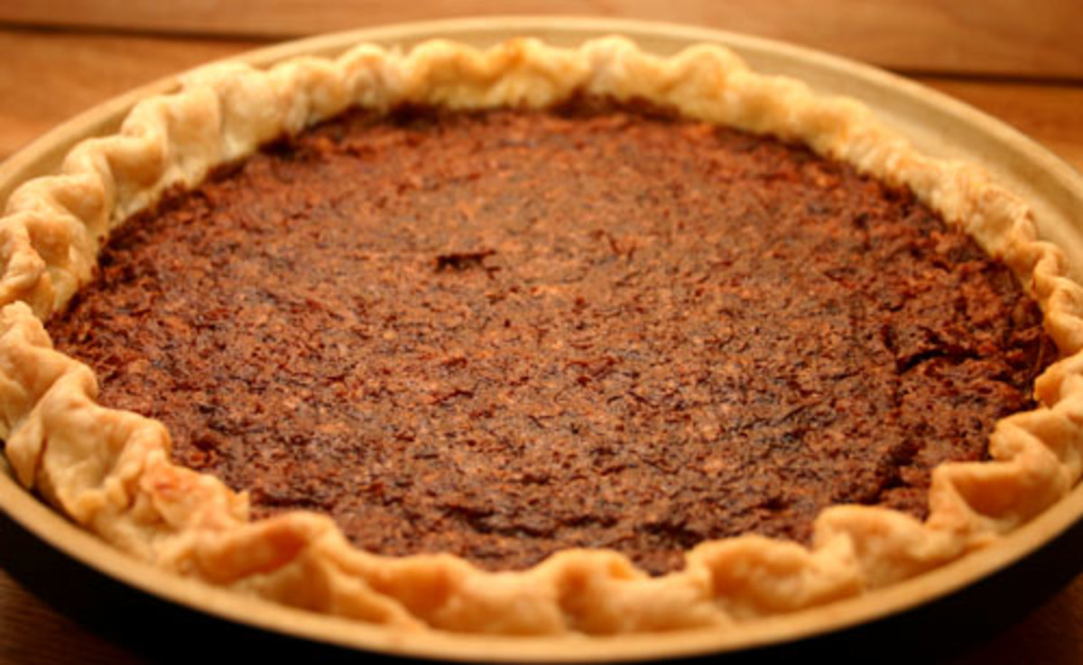 coconut chocolate chess pie