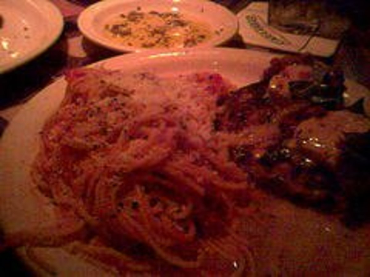 Chicken Bryan at Carrabba's Italian Grill