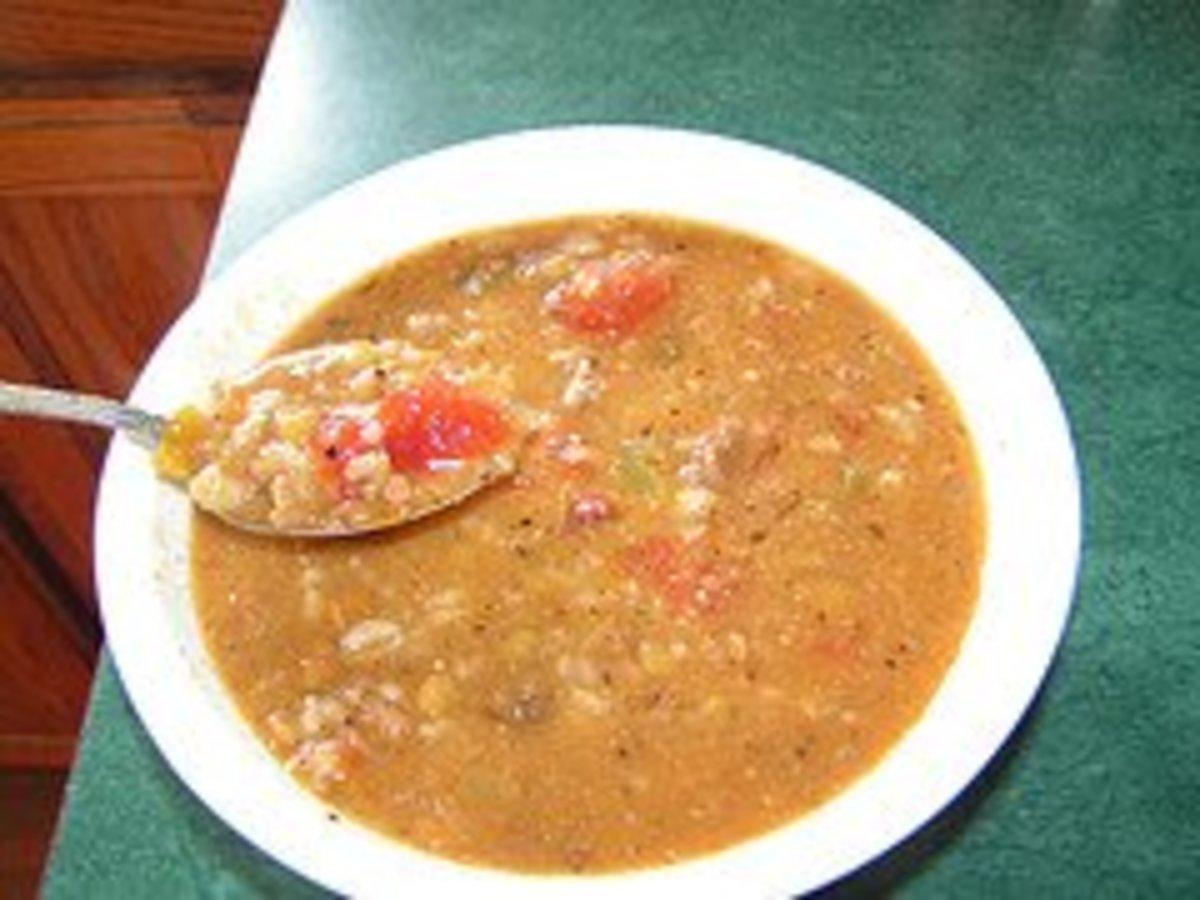 Carrabba's Lentil Soup