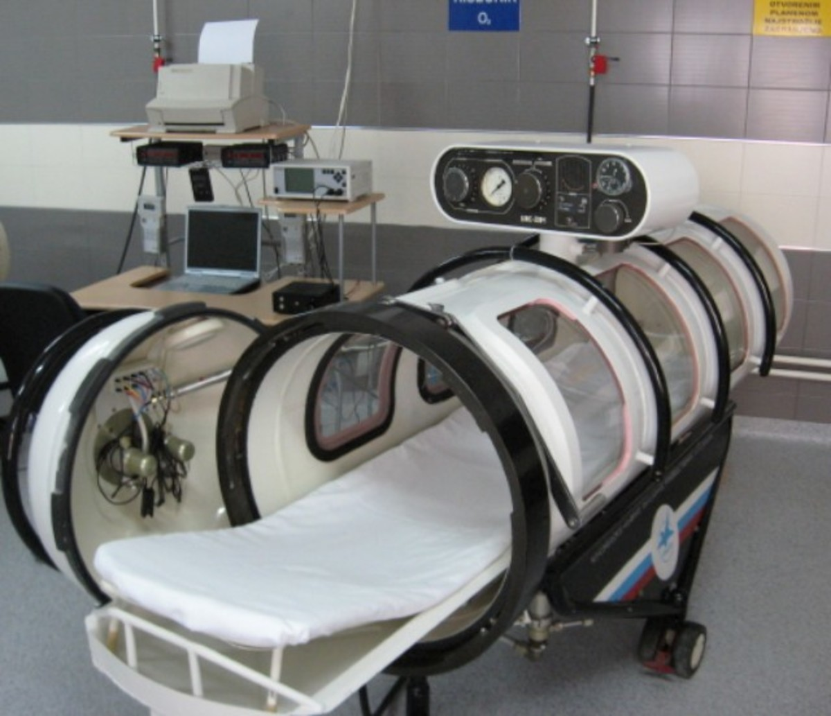 Hyperbaric Chamber for One Patient.