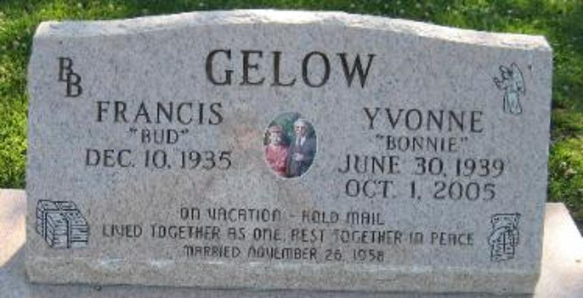"""On vacation, hold mail"", Tulocay Cemetery -- Napa, CA"