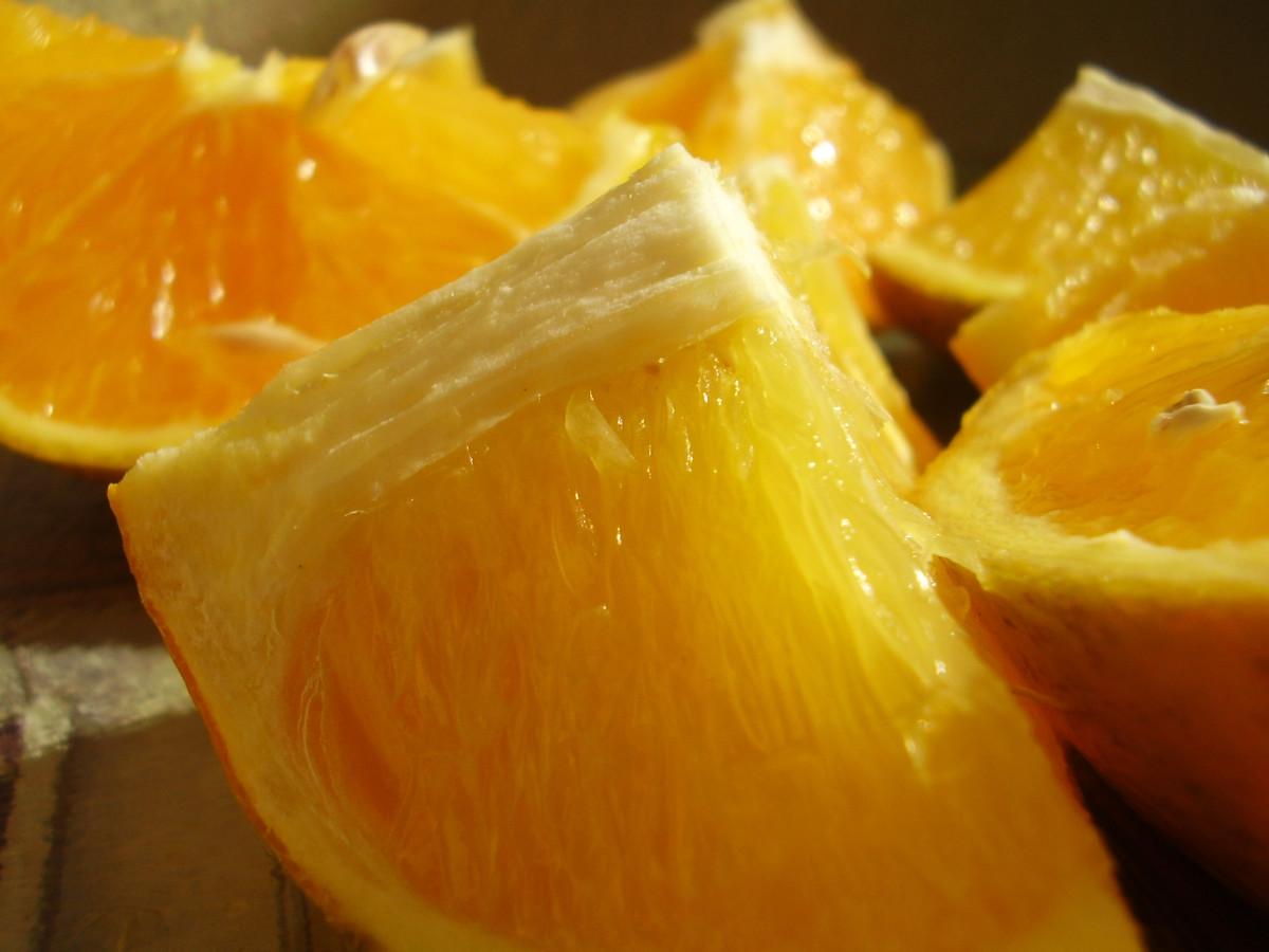 Old Orange Sponge Cake