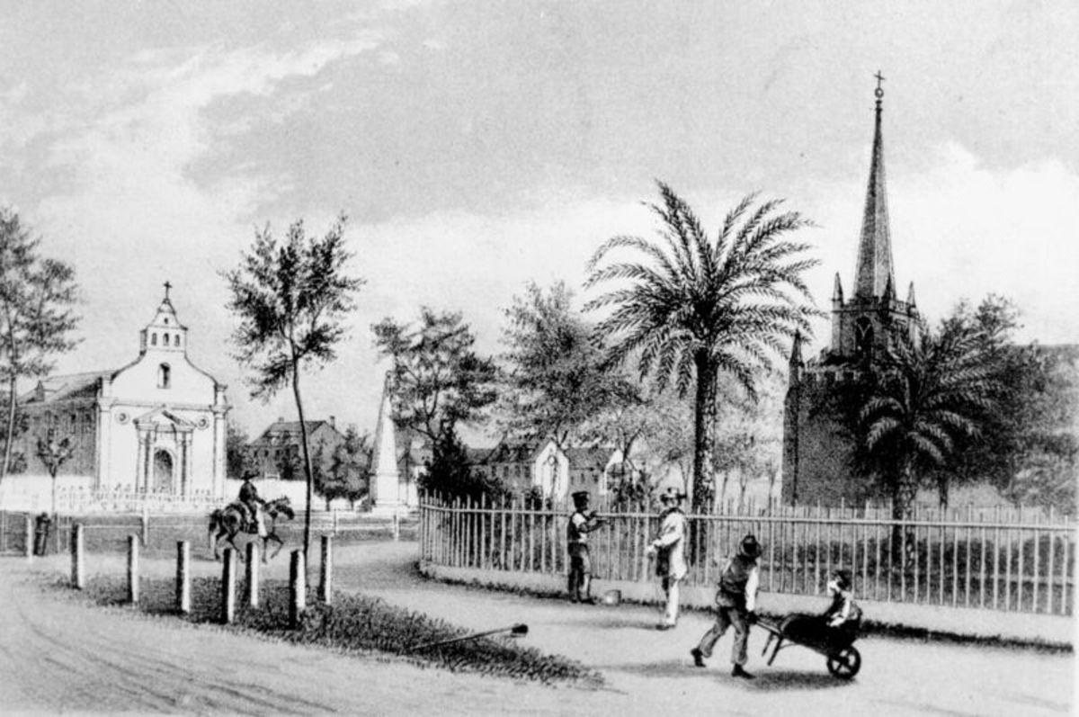 Public Square, St. Augustine, 1858
