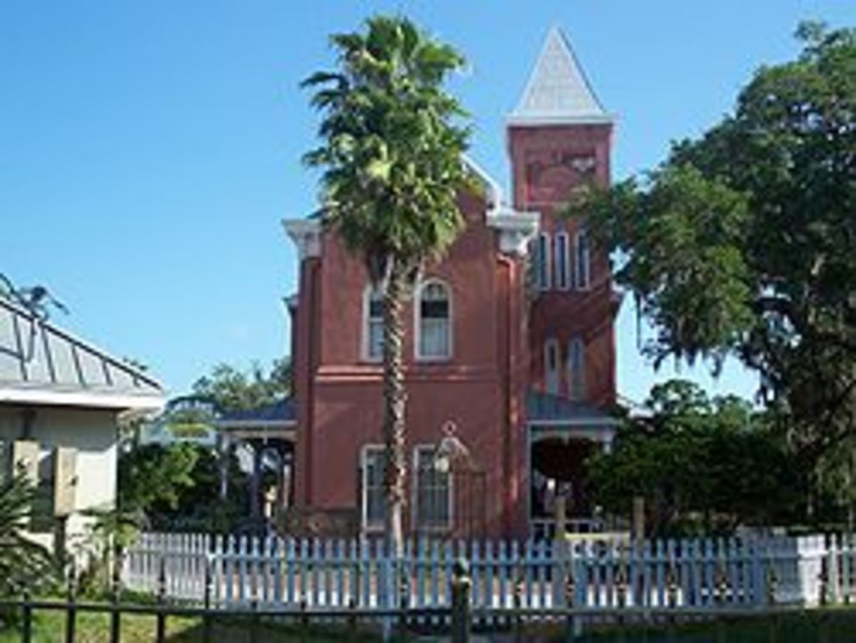 St Augustine Old St Johns County Jail. This jail is said to be one of if not the most haunted locations in the city of St Augustine Florida.