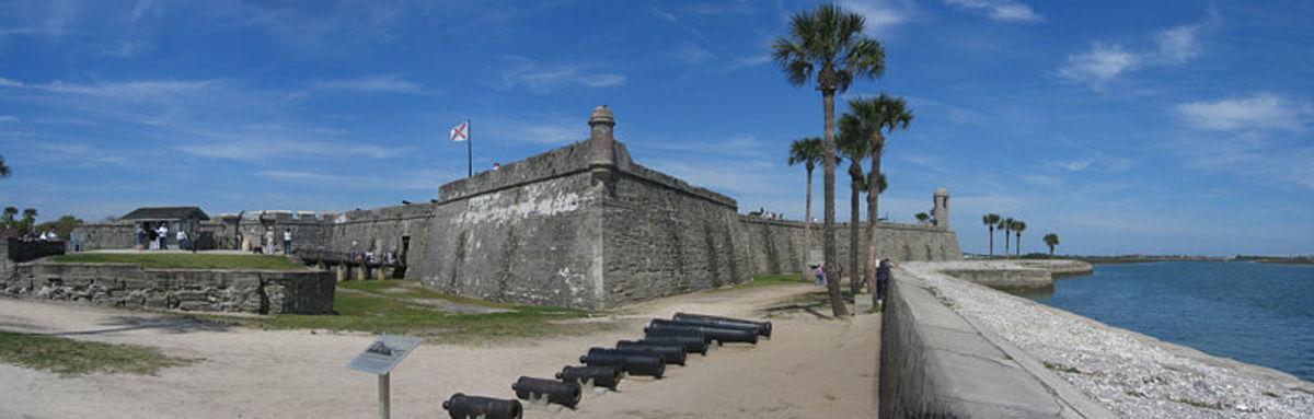 Castillo de San Marcos  also known as Fort Panorama