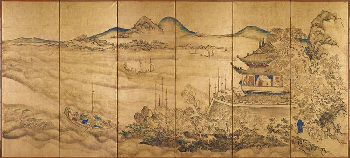 Chinese Landscape. A National Treasure of Japan.