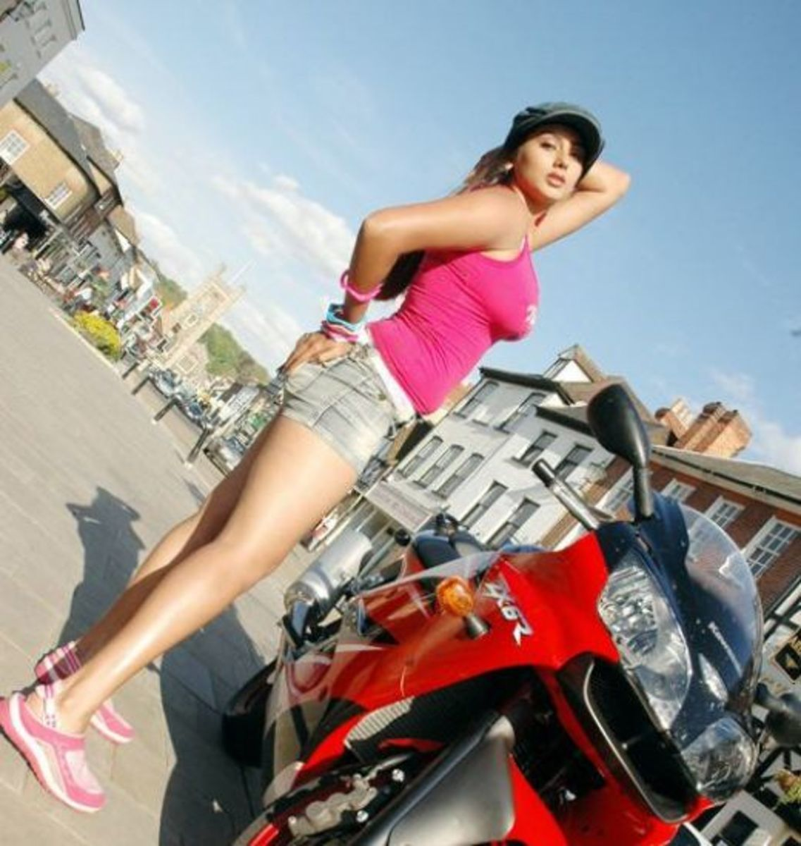 Leggy Namitha Posing
