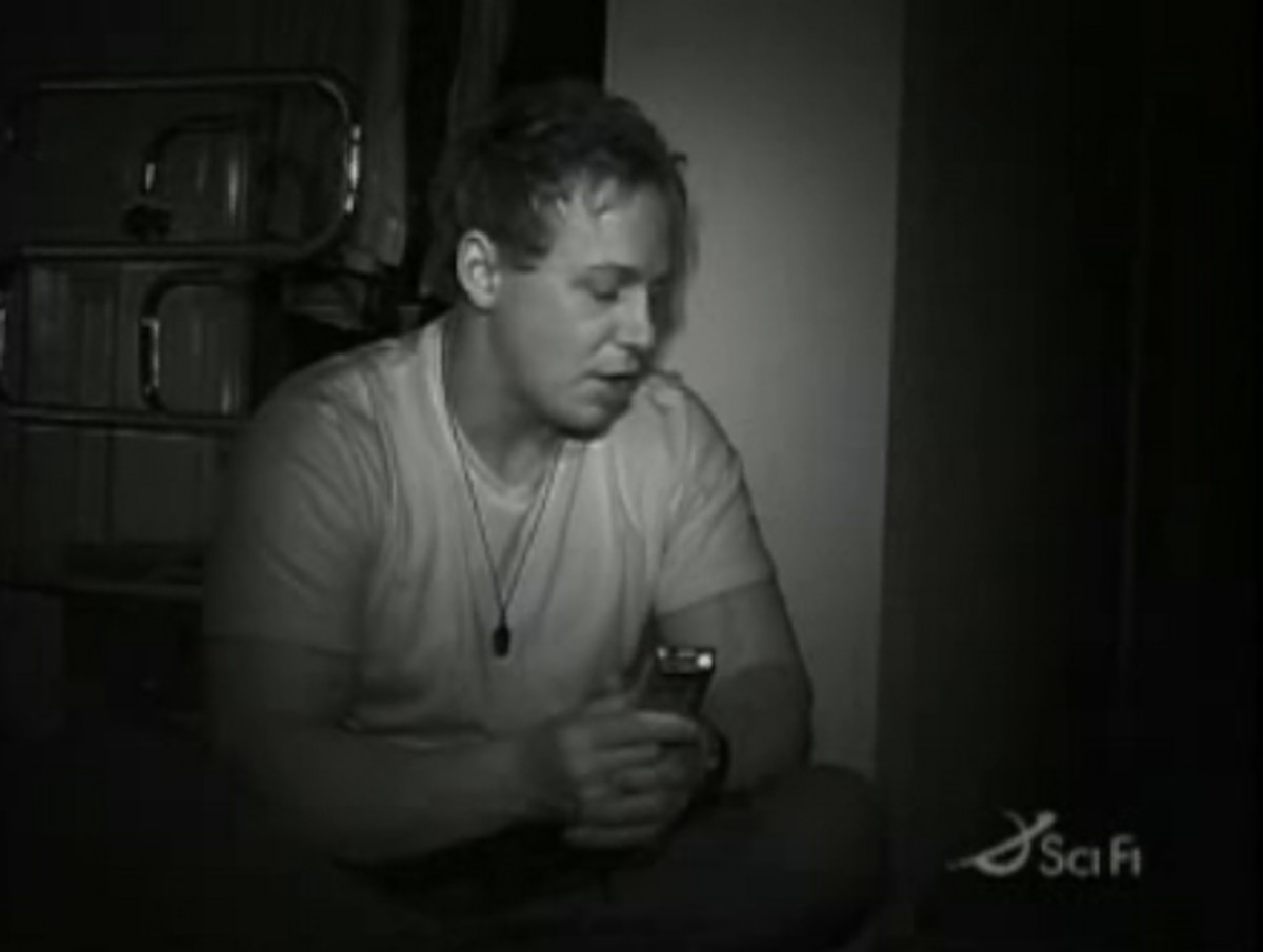 "Psychic medium Chris Fleming used the K2 meter on a recent episode of SciFi's ""Ghost Hunters"""
