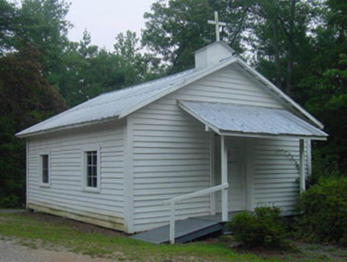 Outside of Fellowship Baptist Church