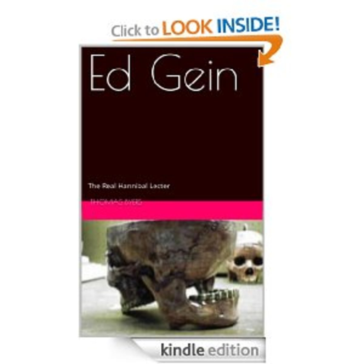 I recently completed my book on Ed Gein, The Real Hannibal Lecter and you can purchase it and read it at Amazon for only 99 cents. Just click the below link to check it out.