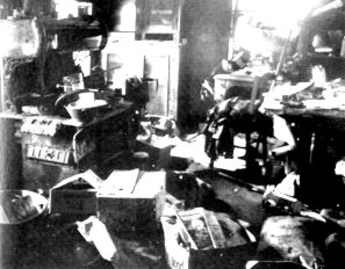 Police Search Ed Gein's Home