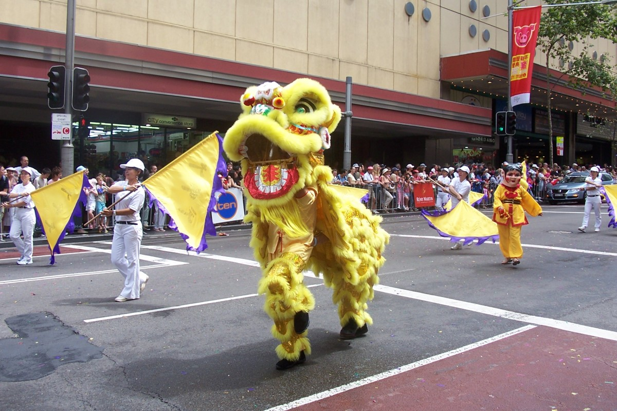 Taken during the 2007 Chinese New Year's Parade in Sydney.