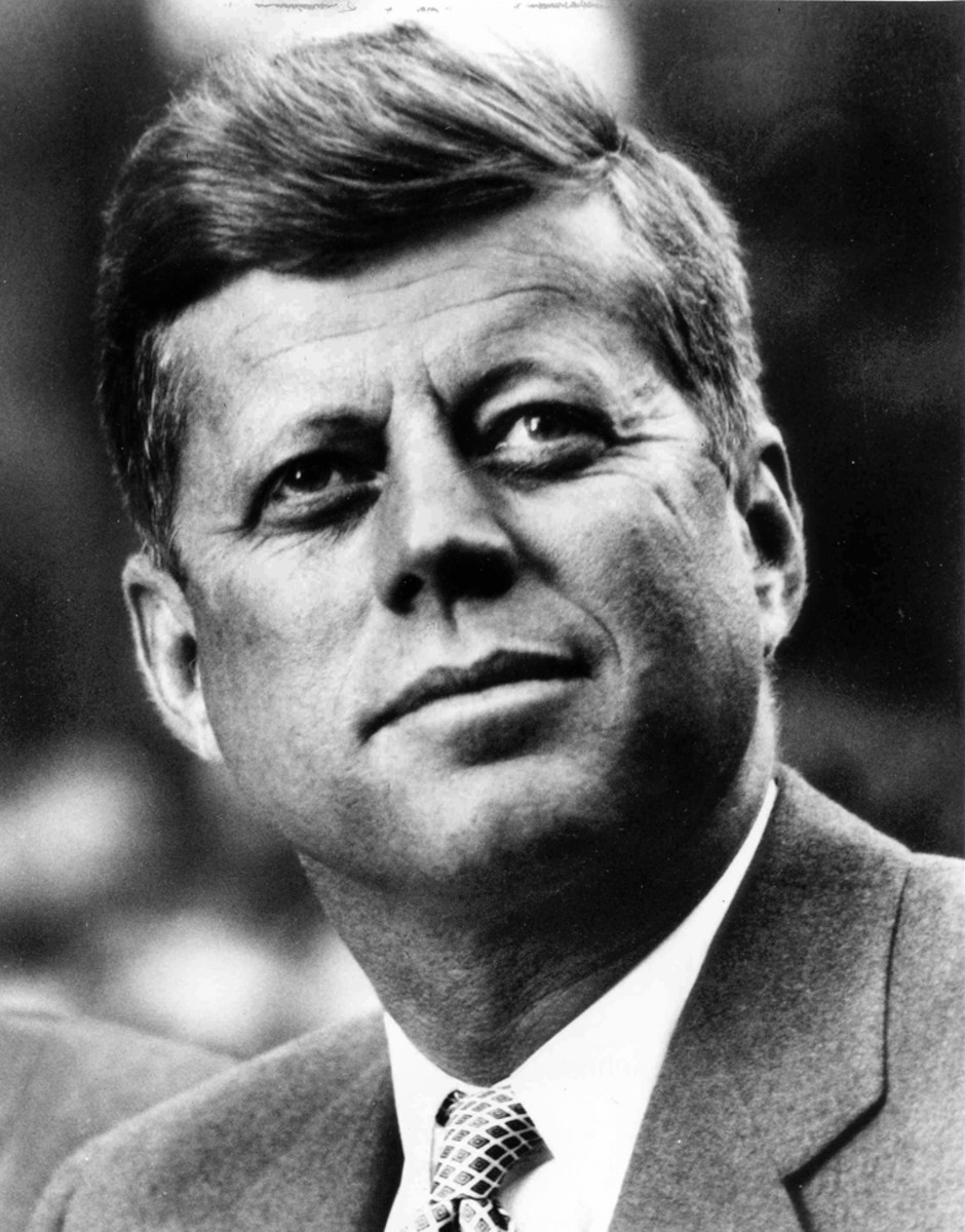 John F. Kennedy, President of the United States.