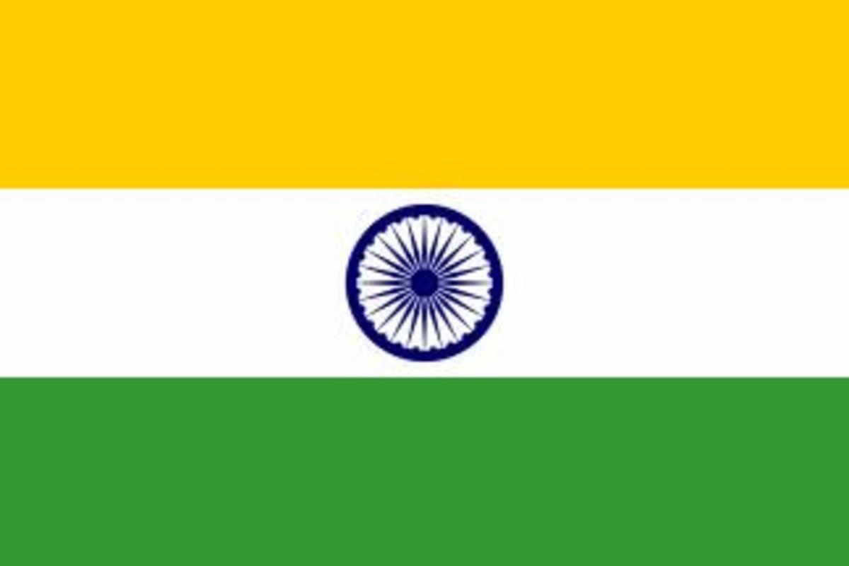 Fig.1 Indian Flag