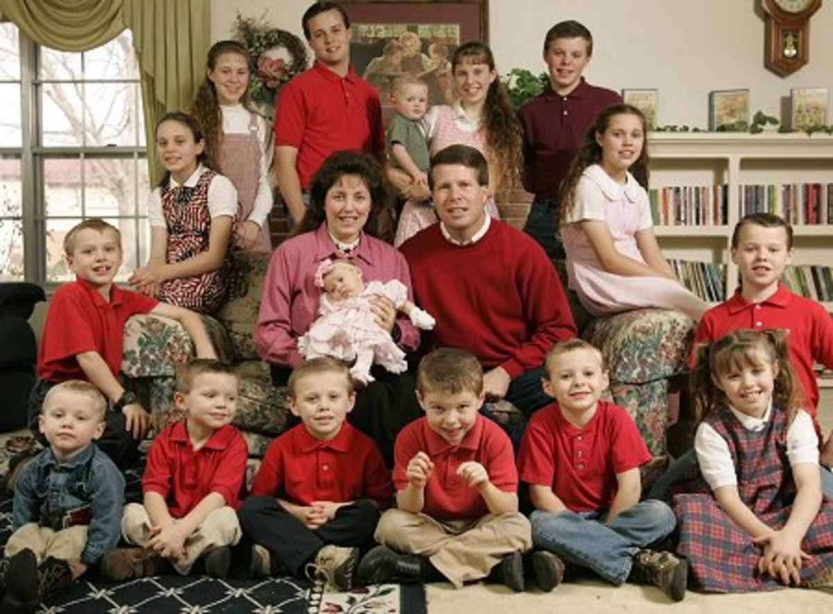 The Duggar Family America's Creepiest Family? A ReSounding, YES!!!
