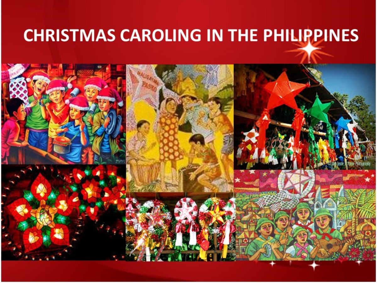 Christmas Caroling in the Philippines