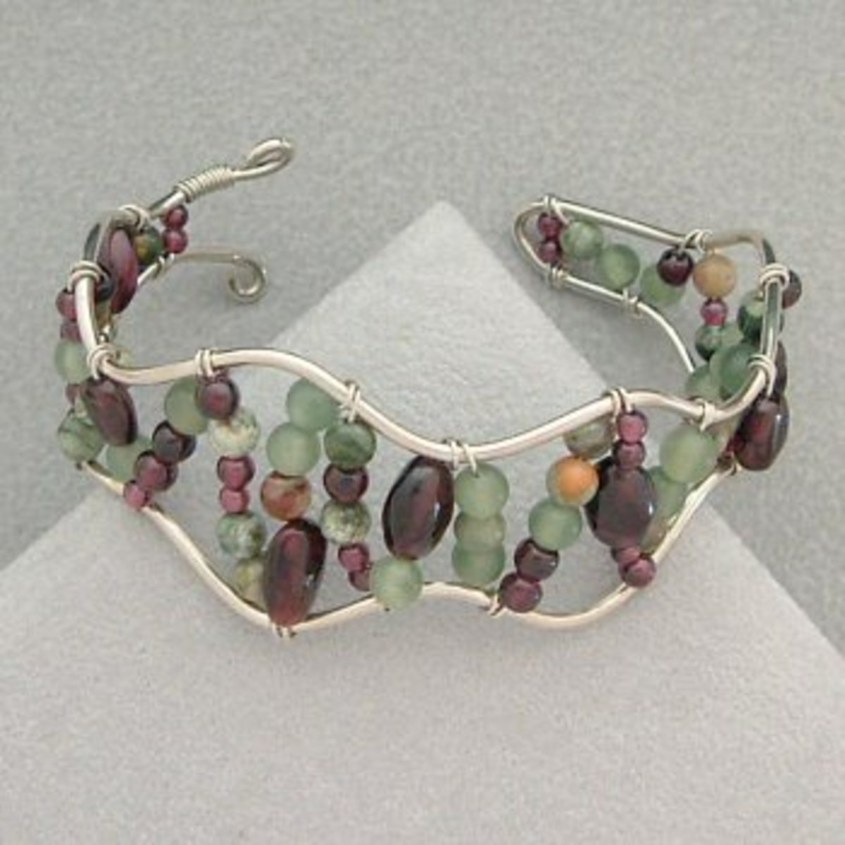 One of my bead and wire bracelets